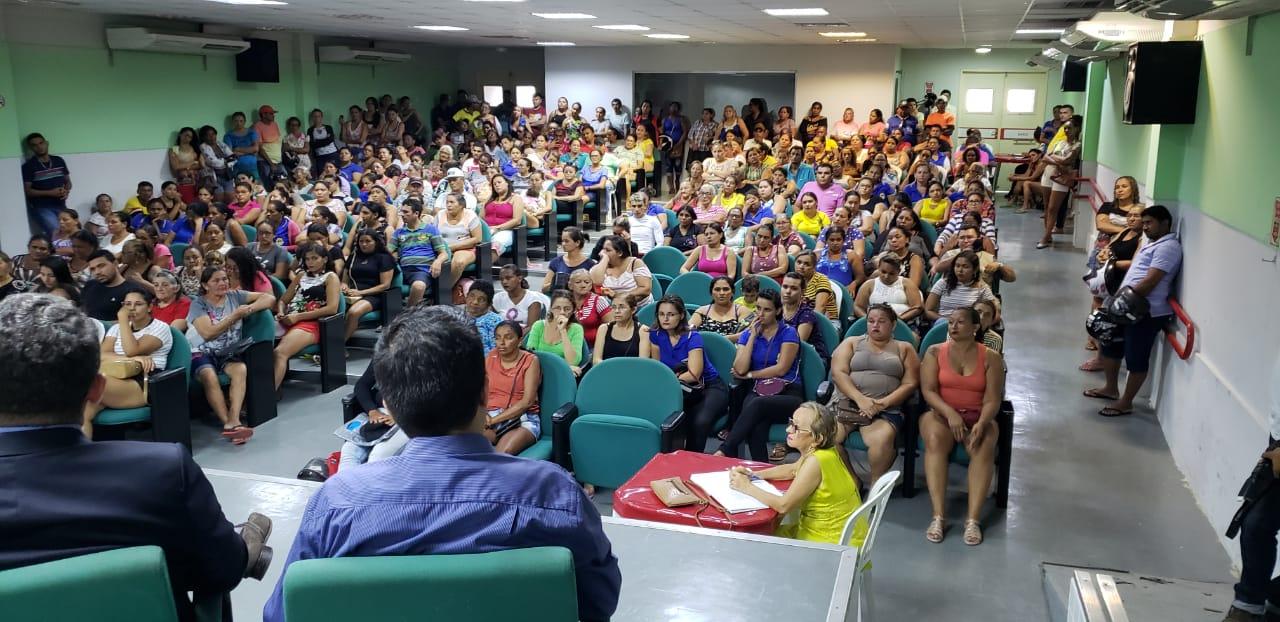 Moradores buscam acordo em audiência pública sobre ocupação em loteamento de Quixeramobim