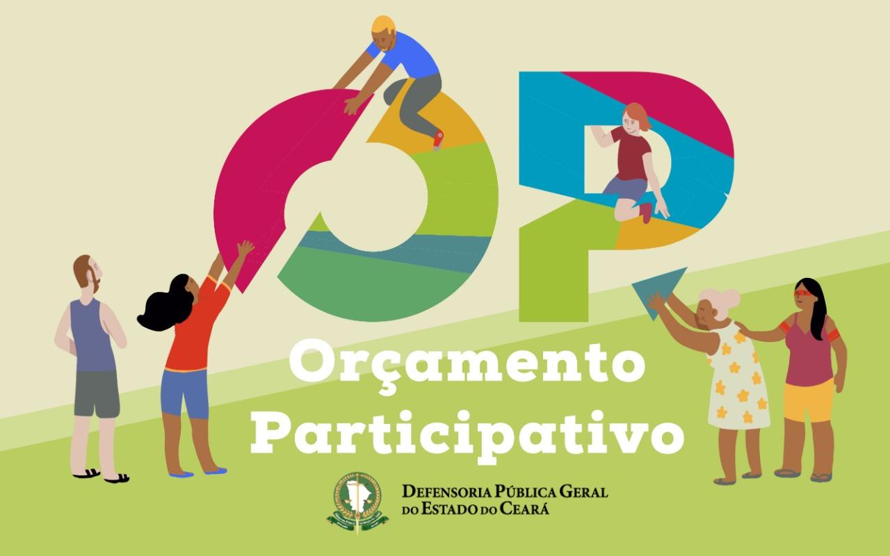 Orçamento Participativo: população é convidada a compartilhar demandas e opiniões sobre a Defensoria Pública