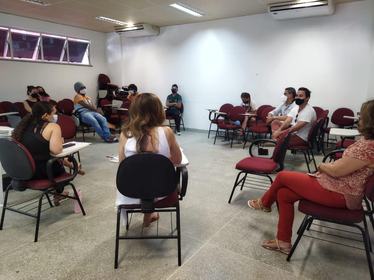 CJR realiza oficina sobre a atuação na Rede Cuca